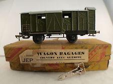 JEP 5662 Wagon bagages couvert avec guérite en HO en boîte