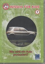 Wissen für Kids Folge 7 - Wie wird ein Auto produziert - Kinder DVD NEU