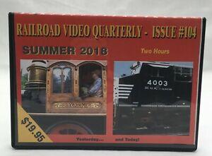 Railroad Video Quarterly - Issue #104 DVD