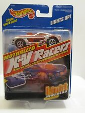 Hot Wheels X-V Racers / Sizzler (Lights-Up!) SOLAR FLASH in Silver MIB #2192 '98