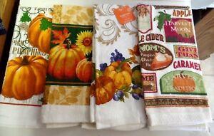 TOWELS KITCHEN/ HAND--PUMPKINS