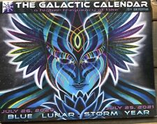 The Galactic Calendar by Skytime Blue Lunar Storm Year July 2020 - July 2021