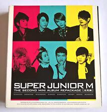 Super Junior M The 2nd Mini Album Repackage Perfection Korea Press CD+DVD