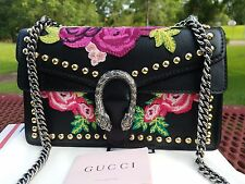 GUCCI Dionysus Embroidered Shoulder Bag.