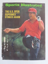 LEE TREVINO signed autographed SPORTS ILLUSTRATED 1971 US OPEN