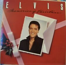 """Elvis """"Memories of Christmas"""" LP Record 1982 w/Calender  Excellent Condition"""