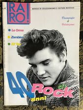 RARO! 41 Magazine about discography Elvis ps ZOMBIES LE ORME ZZ Top