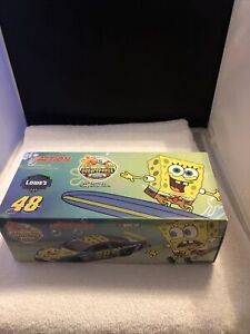 JIMMIE JOHNSON 2004 ACTION #48 LOWE'S SPONGEBOB  CHEVY 1/24 XRARE never opened!