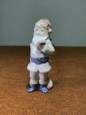 "Lladro 5842 Santa Claus Excellent Retired Papa Noel Porcelain Mini Ornament 5"""