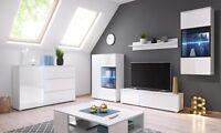 Living room furniture sideboard display unit Tv stand shelf cabinet LED wardrobe