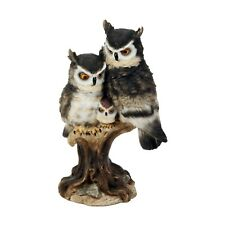 Adler Eule Familie - Naturecraft - Eaglet mit Eltern Schmuckfigur 24cm