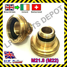 LPG GPL Autogas filling point ACME M22 adaptor UK (GB) to IRELAND, SWITZERLAND