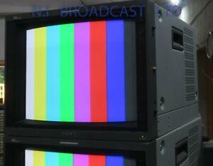 Sony 14inch pvm14L4 retro gaming / editing monitor, RGB, composite, audio, SDI