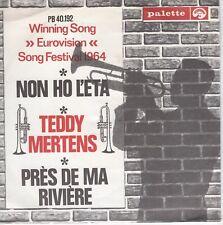 7inch TEDDY MERTENSPRES DE MA RIVIEREEUROVISION 1964 EX+ (S2343)