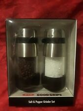 OXO GOOD GRIPS SALT & PEPPER GRINDER SET~BRAND NEW~SEALED BOX~BID @ $1.oo~SUPER!