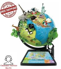 Oregon Scientific Sg268Rk Smart Globe Adventure Ar Educational Toy - Black
