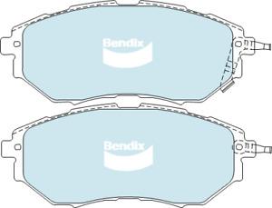 Brake Disc Pad Set  Bendix DB1722 GCT For SUBARU LIBERTY OUTBACK TRIBECA