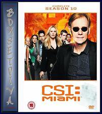 CSI MIAMI - COMPLETE SEASON 10  ***BRAND NEW DVD ***