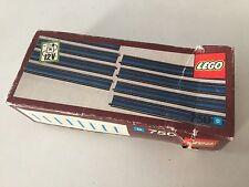 LEGO 1970's trains RAILS track set 750 12v in box