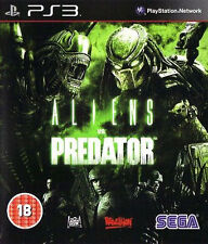 ALIENS VS Predator (18) ribellione 2010 SONY PLAYSTATION 3 Gioco