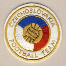 CZECHOSLOVAKIA National FOOTBALL Team PATCH nice EMBROIDERED Czech FA SOCCER rar