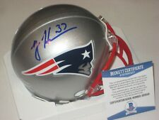 RODNEY HARRISON Signed New England PATRIOTS Mini-helmet w/ Beckett COA