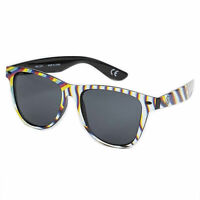 Neff Unisex Daily Shades Sunglasses Glitch Black Eyewear Beach Casualwear