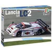 Italeri Lancia LC2 Car Model Kit - Scale 1:24 - 3641