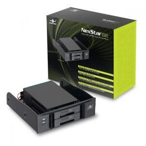 "Vantec NexStar SE Dual 2.5"" SATA Hard Drive Rack."