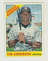 2015 Topps Heritage Minors #115 TIM ANDERSON RC Rookie White Sox QTY AVAILABLE
