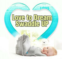 Love To Dream Swaddle UP, Gray, Small, 7-13 lbs, Baby Dramatically Better Sleep