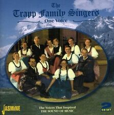 TRAPP FAMILY SINGERS - ONE VOICE    2-CD 2 CD NEW!