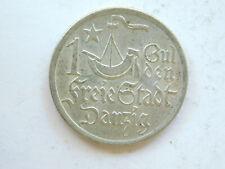 Danzig 1 Gulden 1923 Kogge Silbermünze👌 (16
