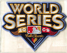 2009 World Series Patch ~ New York Yankees / Phillies Willabee & Ward Patch Only