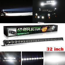 "6D Single Row 32""inch 300W LED Light Bar Combo Offroad SUV Truck vs 30"" 35"" 36"""