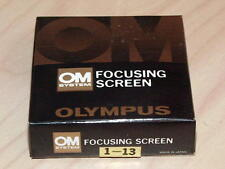 OLYMPUS OM FOCUSING SCREEN 1-13 NEW IN BOX