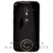 Motorola Moto X XT1055/XT1060 Candy Skin Solid Black Case Cover Shell Guard