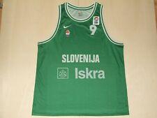 Maillot Maillot Débardeur Basket-Ball Sport Slovénie Slovenija N°9 Taille XXL
