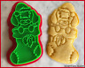 Dachshund Sausage Dog Christmas Stocking Cute Cookie Cutter Biscuit Stamp DIY