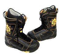 Burton Shaun White Snowboard Boots Size US 11.5 UK 10.5 EUR 45  Black Gold