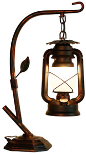 Rustic Lodge Novelty Desk Lamp Table Lamps For Living Room 110V NEW