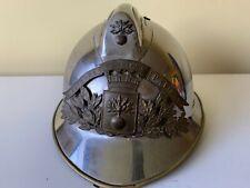Vintage French Fireman Helmet