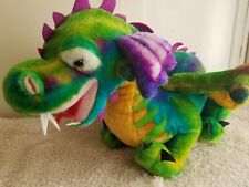 47 in. Large Melissa And Doug Colorful Magic Dragon Plush Toy