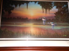 Sanctuary Pond by Jim Booth  Artist Proof 71 of 95 Signed Twice by the artist
