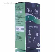 3 x Tugain 2% Solution Cipla Hair Loss Baldness Regrowth Promoter Men HLK