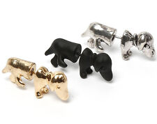 Dog Dachshund Stud Earring Gothic Punk single or pair earrings FREE POSTAGE