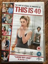 Leslie Mann Paul Rudd THIS IS 40 ~ 2013 Judd Apatow Midlife Crisis Comedy UK DVD