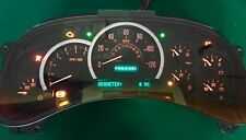 RED LED 03-04 Cadillac Escalade Yukon REMAN Instrument Cluster 0 Miles $50 Back