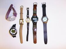 Disney wrist watch lot Mickey Mouse Horace Horsecollar Fossil Lorus untested