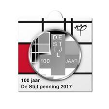 NEDERLAND 2017: 100 JAAR DE STIJL PENNING IN MUNTHOUDER